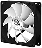 ARCTIC F9 PWM - computer cooling components (Computer case, Fan, Black, White, Plastic, 110 g, 150 g)