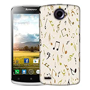 Snoogg Multicolor Strings Designer Protective Phone Back Case Cover For Lenovo S920