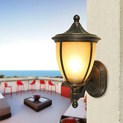 GYY Light Impermeabile outdoor luci da parete Patio Giardino Lampada Villa porte balcone lampada camera