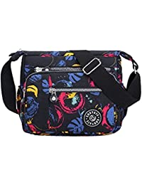 Womens Multi Pocket Casual Cross Body Bag Travel Bag Messenger Handbag for  Shopping Hiking Daily Use 949a079aa9a41