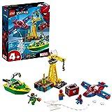 Super Heroes Spider-Man: la Rapina di Diamanti di Doc Ock, Colore Costruzioni, 76134