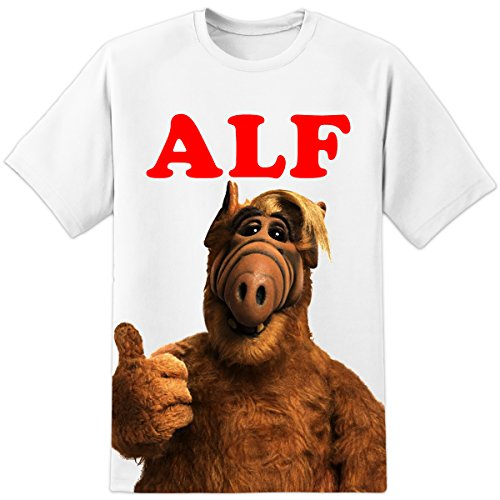 ALF Retro TV 80's Classic Funny T Shirt Alien Life Force Vintage