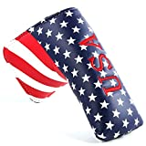 Usa Stars Stripes TaylorMade Golf putter Headcover for Scotty Cameron ping Blade
