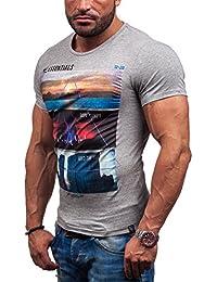 BOLF - T-shirt à manches courtes – GLO STORY 7453 – Homme