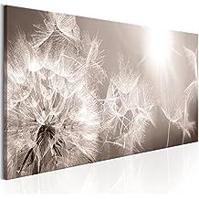 murando - Cuadro 120x40 cm - Naturaleza - 3 Motivos a elegir - Flores - Impresion en calidad fotografica - Lienzo tejido no tejido - Diente de Leon b-C-0161-b-a