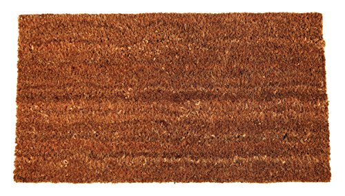 Tildenet DMC0275x 45x 1.5cm Plain coir Mat-marrone