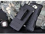Cocomii Robot Armor LG G4 Funda [Robusto] Superior Funda Clip para Cinturón Soporte Antichoque Rígido Caja [Militar Defensor] Cuerpo Completo Doble Capa Sólido Case Carcasa for LG G4 (R.Black)