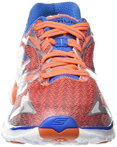 Skechers Go Run 4, Chaussures de Sport - Homme Orange