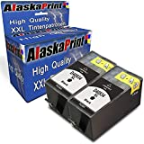 Wow 2X Druckerpatrone KOM. für HP 934XL 934 XL Schwarz Black HP Officejet Pro