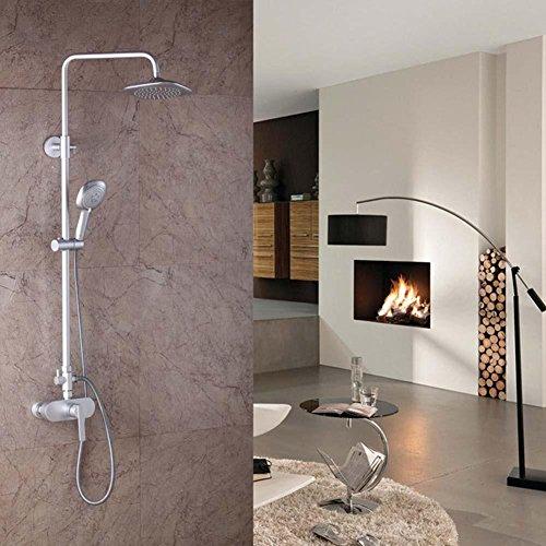 sdkky-space-aluminio-wall-type-sola-funcion-ducha-conjunto-dos-top-spray-ducha-resistentes-a-la-corr