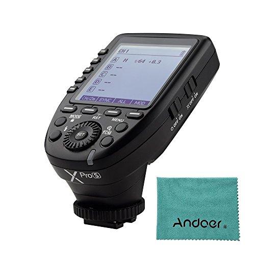 Godox Xpros TTL Wireless Blitzauslöser Sender für Sony A7 II A77 A99 ILCE-6000L A9 A7R A7RII A350 DSC-RX10 Unterstützung TTL Autoflash 1/8000 s HSS...