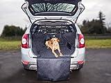 Jekam Hunde Schutzdecke Kofferraum Kombi SUV Kofferraumschutzdecke Hund wasserdicht- Kofferraumschutzmatte mit Seitenschutz für Kofferraum- Kofferraumdecke perfekt für deinen Hund