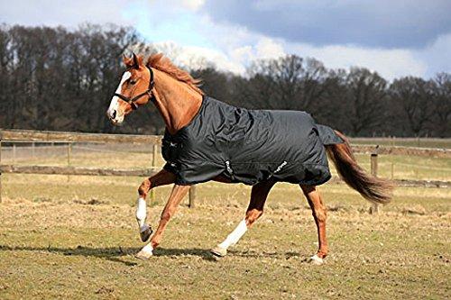 Kerbl Pferdedecke RugBe 200 Winterdecke 155 cm schwarz, 326130