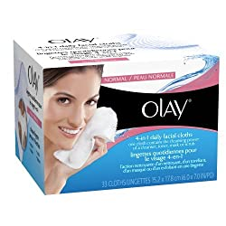 Of Olay Daily Facials Normal & Dry Refill, 33 ct