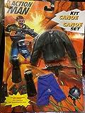 Action Man Hasbro canoe Set kit 1996 Schwimmflossen Taucherbrille und wasserfeste Jacke