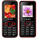 I KALL K14(Red) And K25(Red) Combo Of Dual Sim Mobile, 1000 MAh Battery Capacity With 101 Days Replacement Warranty With 1 Year Manufacturer Warranty
