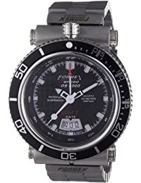 Formex 4 Speed 20003.2021 - Reloj analógico de cuarzo para hombre con correa de acero inoxidable, color plateado