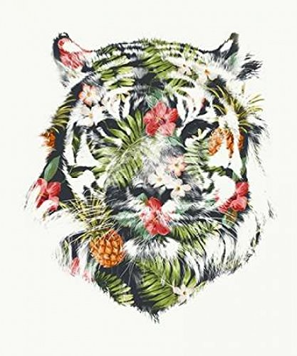 Robert Farkas - Tropical Tiger Impression d'art Print (25,40 x 30,48 cm)