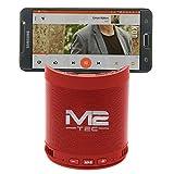 Mini BT Tragbarer Lautsprecher Soundbox Soundstation Musikbox Radio MP3 SD USB, Farbe (Rot)