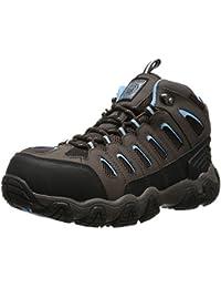 Skechers For Work 77013 flexible Stride Grinnel Slip acero RÃ © sistant Toe Work Shoe, Multicolor (Navy/Gray), US 12
