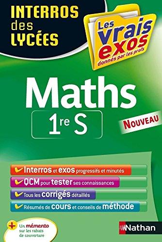 Interros des Lycées Maths 1re S par Danièle Eynard
