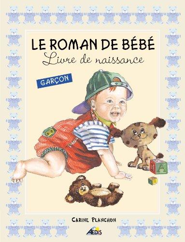 Roman Bebe Garcon - Livre de Naissance