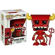 Futurama Figura POP! Television Vinyl Robot Devil 9 cm