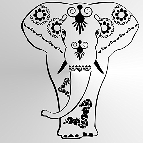LUTUS MANDALA Reusable Stencil A3 A4 A5 BOHEMIAN Modern Wall Art DIY Lotus