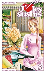 J'aime les sushis Edition simple Tome 5