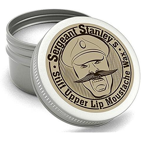 Sergente Stanley Cera Baffi Duri Labbro Superiore - Naturale e Organica - 30ml