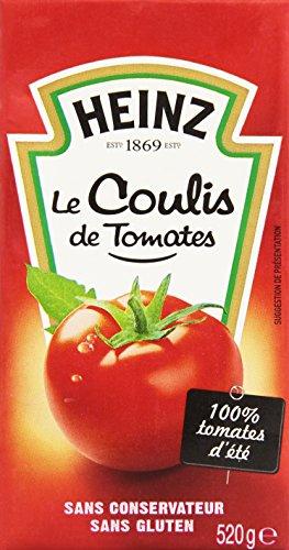 Heinz Coulis de Tomates La Brique 520 g