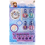 Townley Girl Disney Frozen Nail Design Set, Multi Color