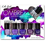 LA GIRL Ombre Limited Edition Gradient Polish Set - Love Affair - Love Affair by L.A. Girl