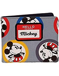 Disney Mickey Circles Monedero, 10 cm, 0.19 litros, Azul