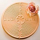 Finger-Labyrinth wie Labyrinth in Kirche von Chartres