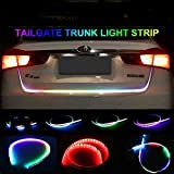 Autotrends Flow Led Strip Trunk/Dicky/Boot/Tail Lights Streamer Brake Turn Signal Light (Works with All Cars)