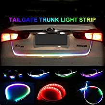 Autotrends Flow Led Strip Trunk / Dicky / Boot / Tail Lights Streamer Brake Turn Signal Light (Works With All Cars)
