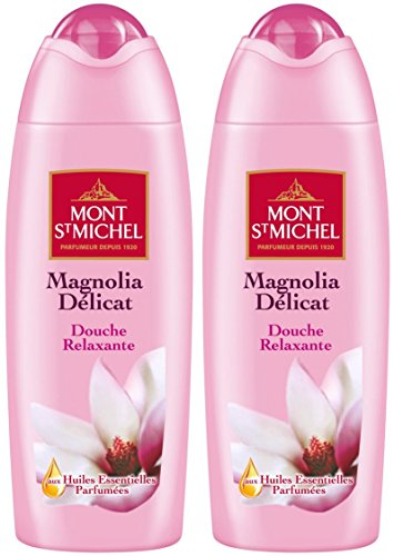 Mont Saint Michel Gel Douche Magnolia Délicat Flacon 250 ml - Lot de 2