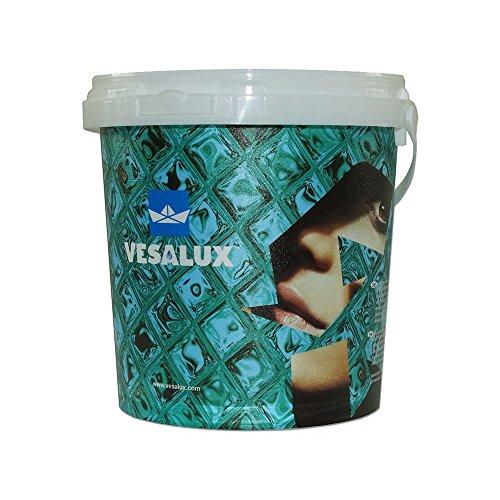 Vesalux 119 Go Glitter - Barattolo di vernice glitterata, colore viola
