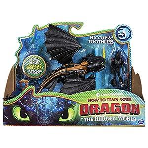 Dragons 6052275 Viking - Figuras de Hiccup sin Dientes y Colores Mezclados
