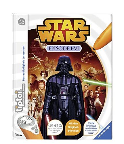 Ravensburger tiptoi ® Bücher Set – Star Wars TM Buch Episode I-VI und Episode 7 – Das Erwachen der Macht + Star Wars Sticker - 5