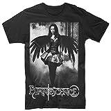 Photo de Pliuegy Men's Evanescence Angel Devil Amy Lee T-Shirt Black par Pliuegy