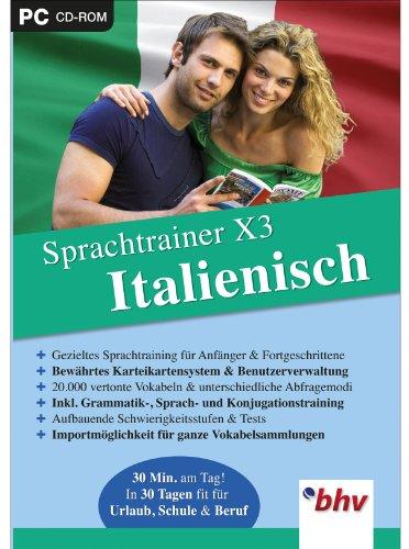 Sprachtrainer X3 Italienisch