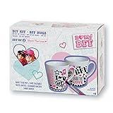 BmyBff Kit regalo per i regali Best Friends kit per la creazione di tazze di Best Friends. Perfetto Best Friend Gifts/Best Friend Mug. Ottimo regalo per ragazze 8 anni + (Include 2 tazze da decorare)