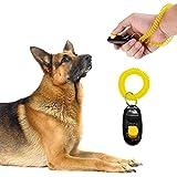 Pet Training Clicker With Wrist Strap For Dog/Cat/Kitten/Puppy/Bird (Black)