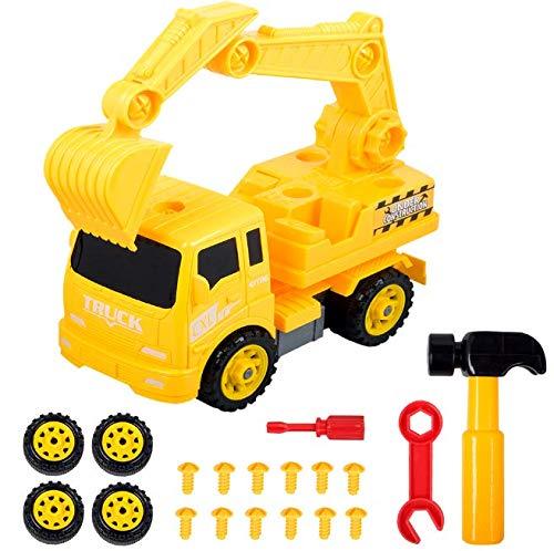 LKW Spielzeug Geschenk junge liebt Digger Fahrzeug konstruktive autoSpielzeuge zusammenzubauen Bagger Spielzeug, Geburtstag, Christamas Geschenk Spaß Spielzeug für 3,4,5,6,7,8 Jahre alter Junge|Jopee
