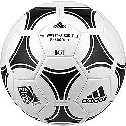 adidas Tango Pasadena - Balón de fútbol, color blanco / negro, tamaño 5