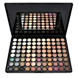 JasCherry 88 Farben Lidschatten Makeup Palette Set - Sleek Pulver Augenschatten Professional Make Up Etui Box - Satte Farben Kosmetik Eyeshadow Palette Kit #1