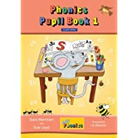 Jolly Phonics Pupil Book 1 (Colour Edition) in Print Letters: in Print Letters (British English edition) (Pupil Books…
