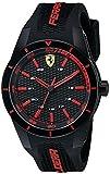 Ferrari Herren 0830245redrev Analog Display Quartz Black Watch